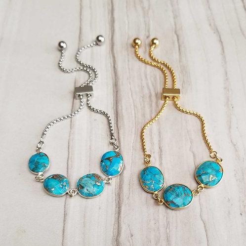 Turquoise Slide Bracelet