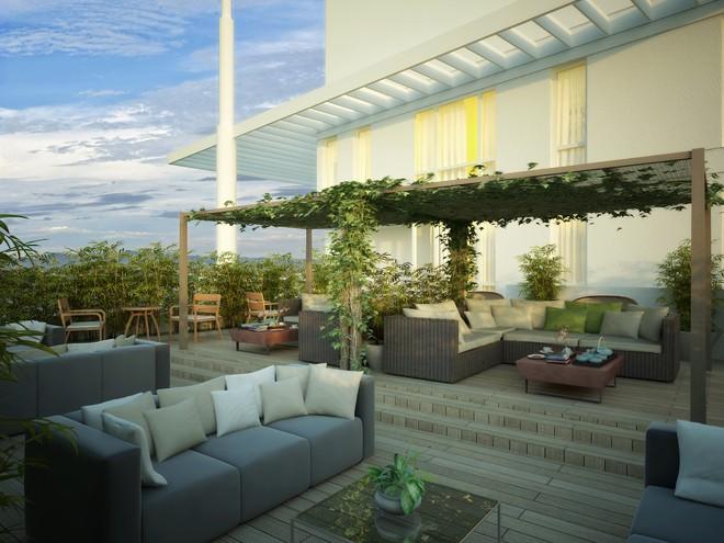 1016 Residences - Deck