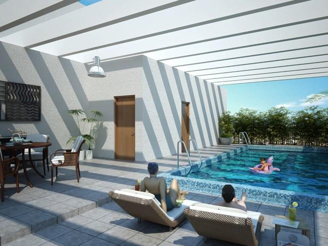 1016 Residence Suites Pool