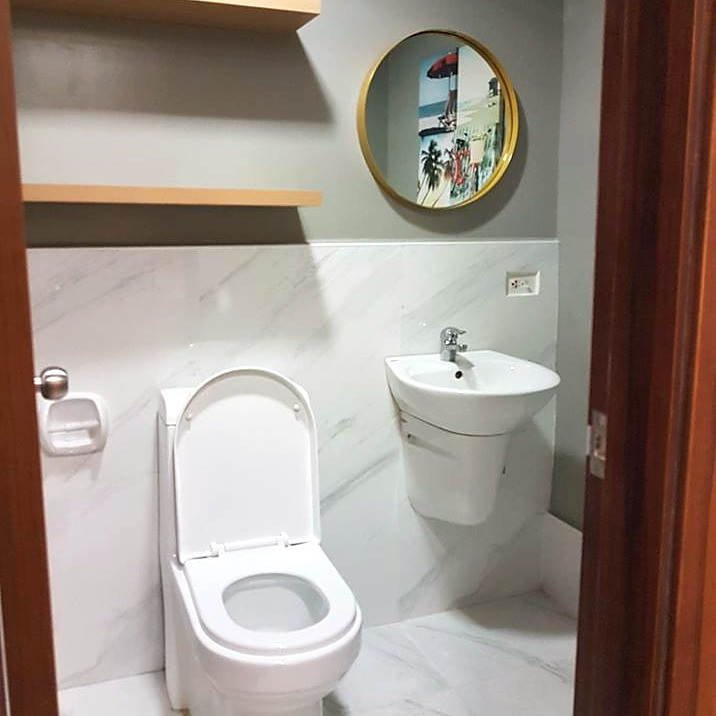 Water closet and lavatory