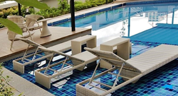 Lounge chairs - Swimming pool