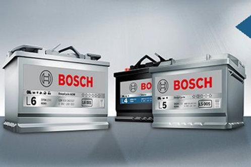 120AH Bosch AGM Gel Matte battery