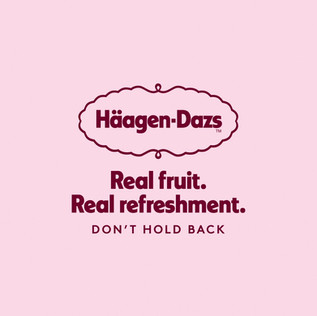 Häagen Dazs - Brand Comms and Packaging