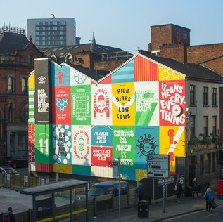 Umbro - Manchester Mural
