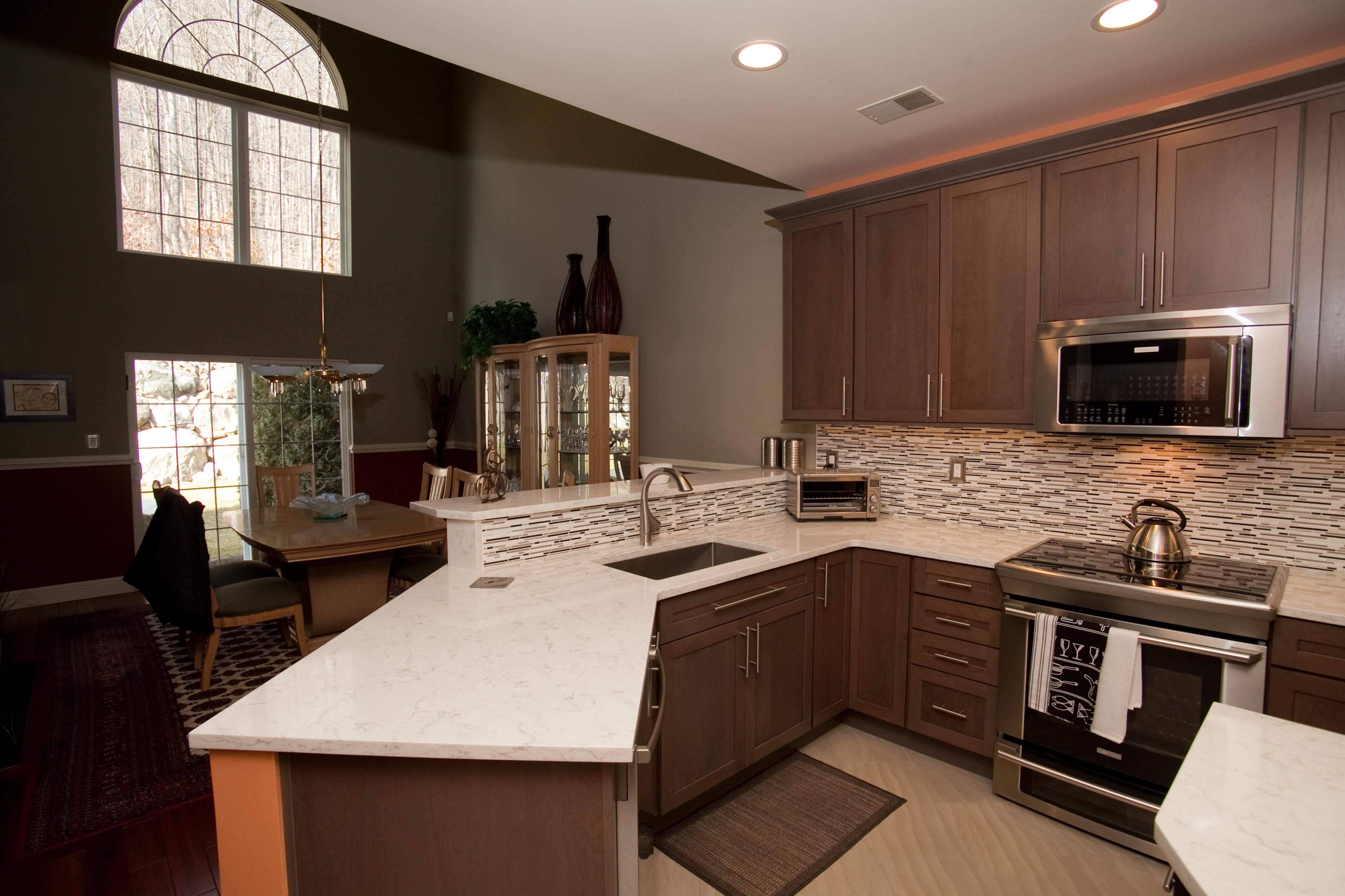 Kitchen remodel in Tuxedo, NY