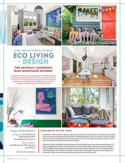 Origin Magazine feature