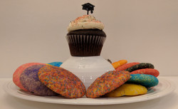 Chocolate Cupcake and Sugar Cookies