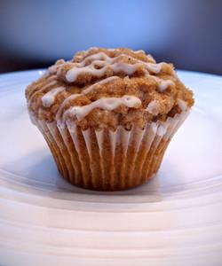 Cinnamon Coffee Cake Muffin
