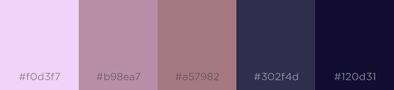 Russian Violet - Color Palette