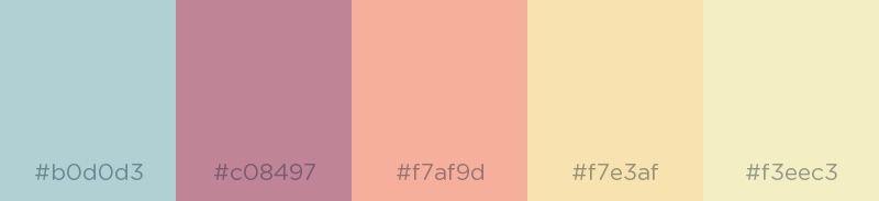 Light Salmon Pink - Color Palette