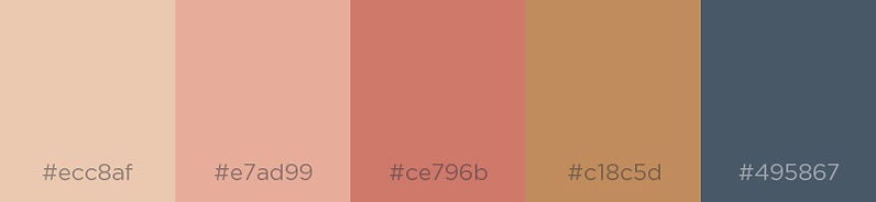 Desert Sand - Color Palette