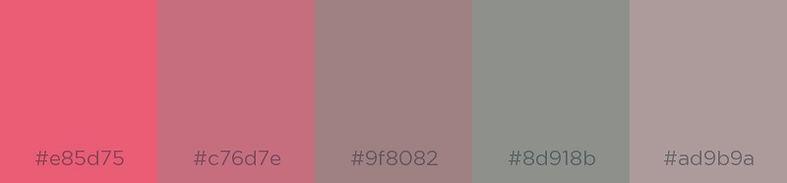 Cinnamon Satin - Color Palette