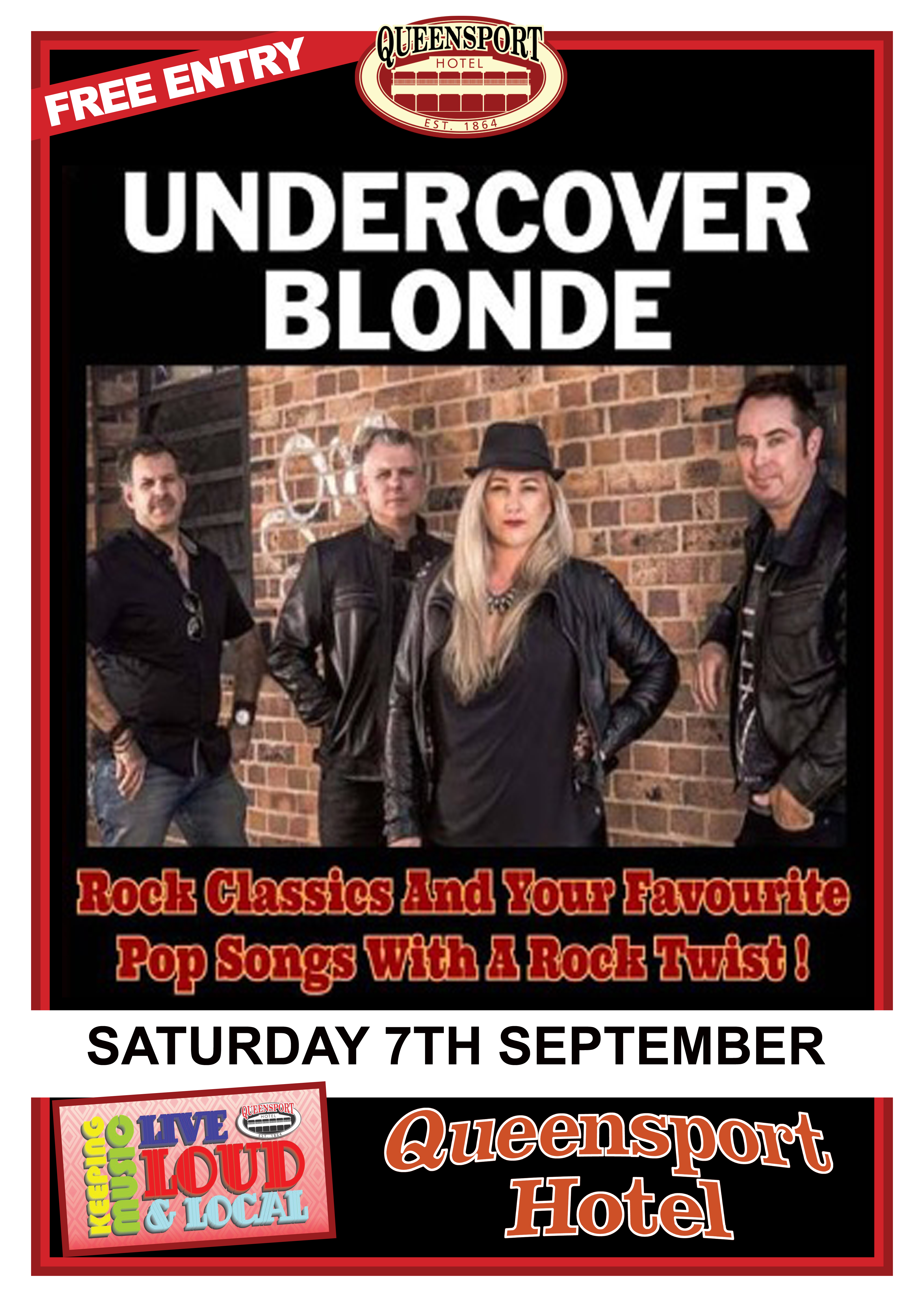 Undercover Blonde A3 7-9