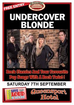Undercover Blonde A3 7-9