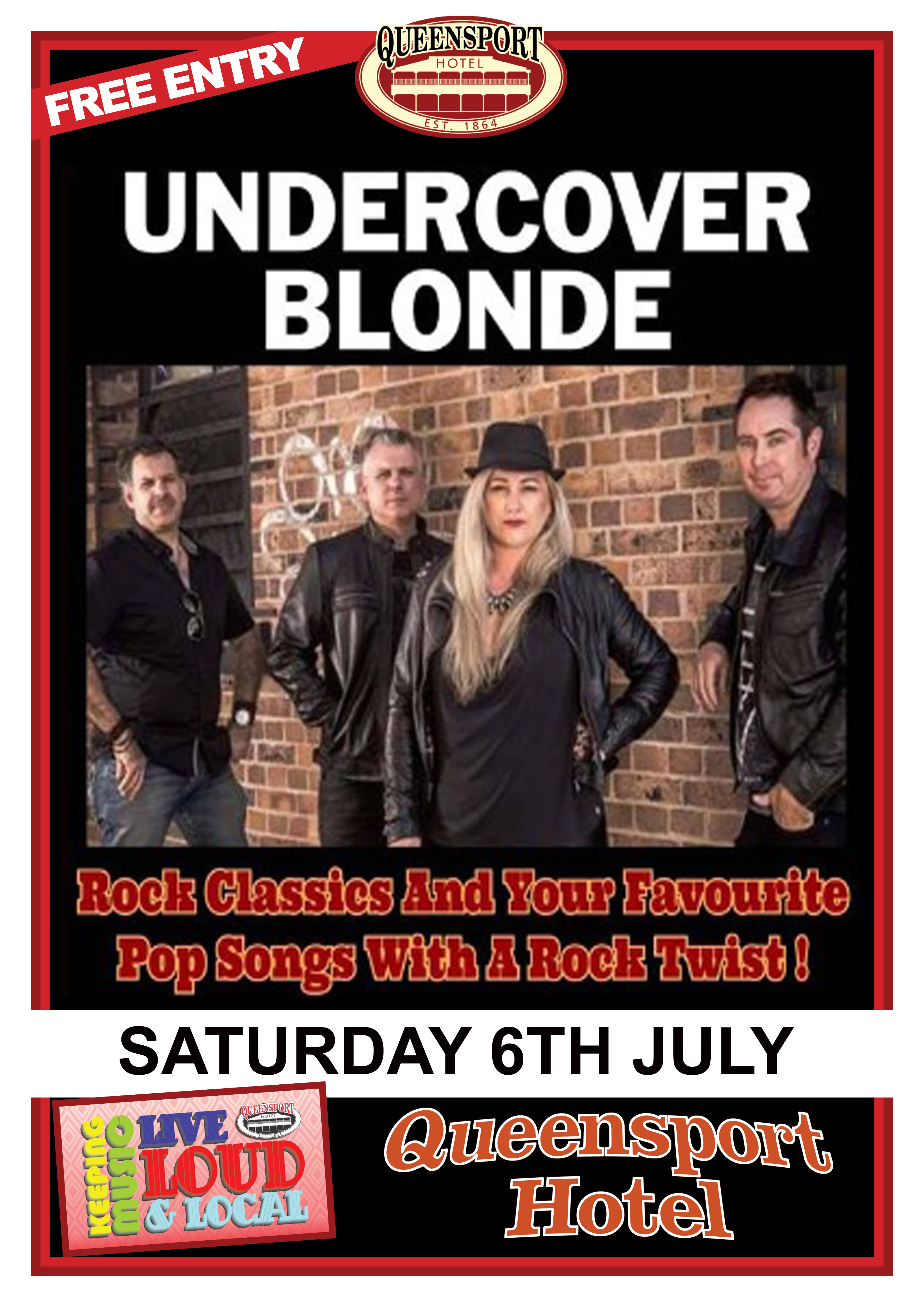 Undercover Blonde A3 6-7