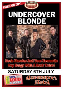 Undercover Blonde A3 6-7