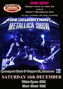 Metallica A3 16-12