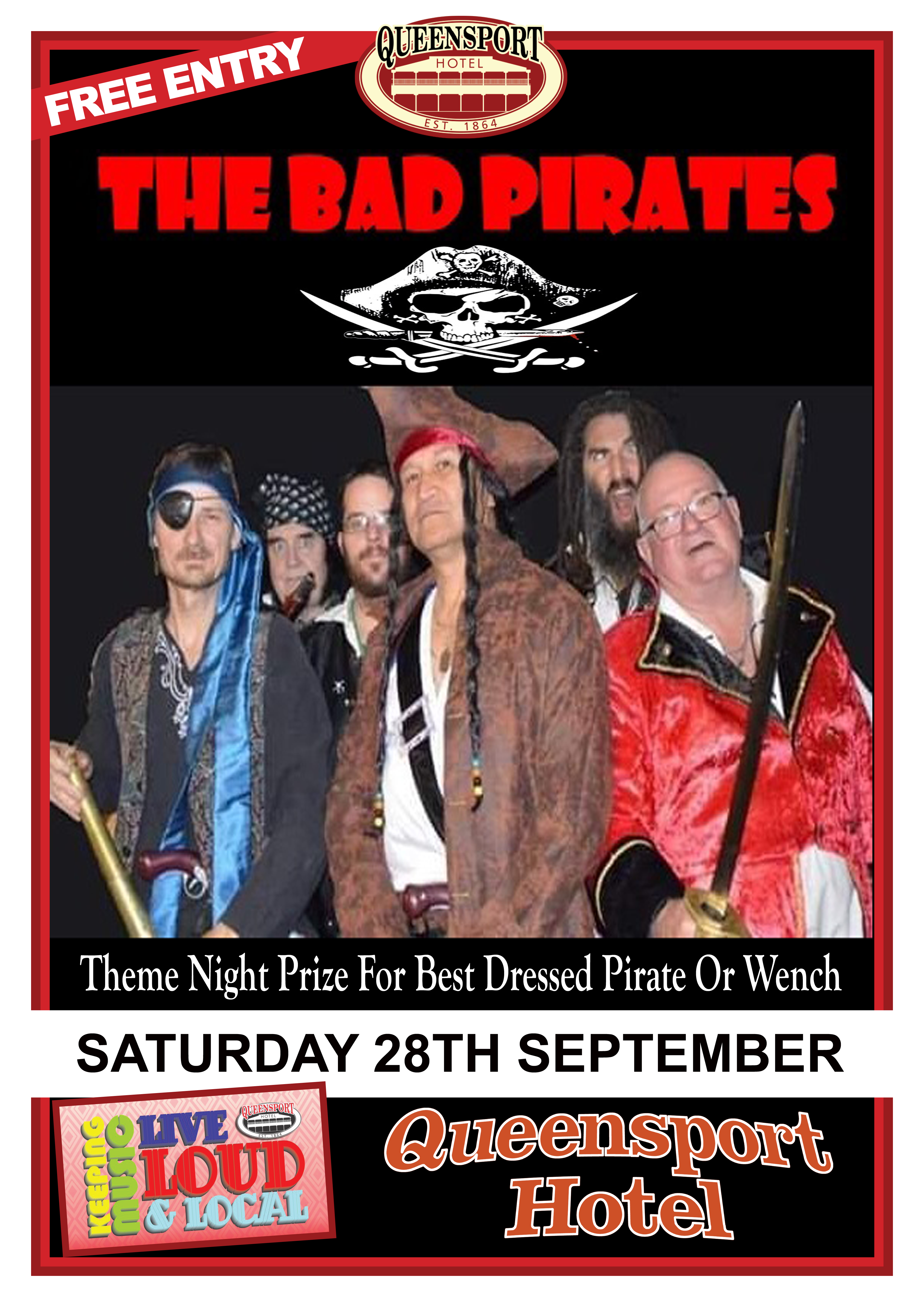 Bad Pirates A3 28 -9