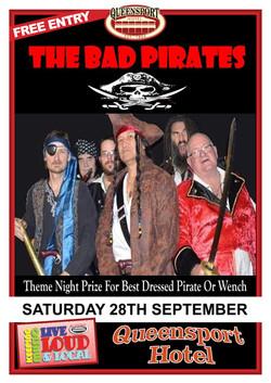 Bad Pirates A3 28 -9