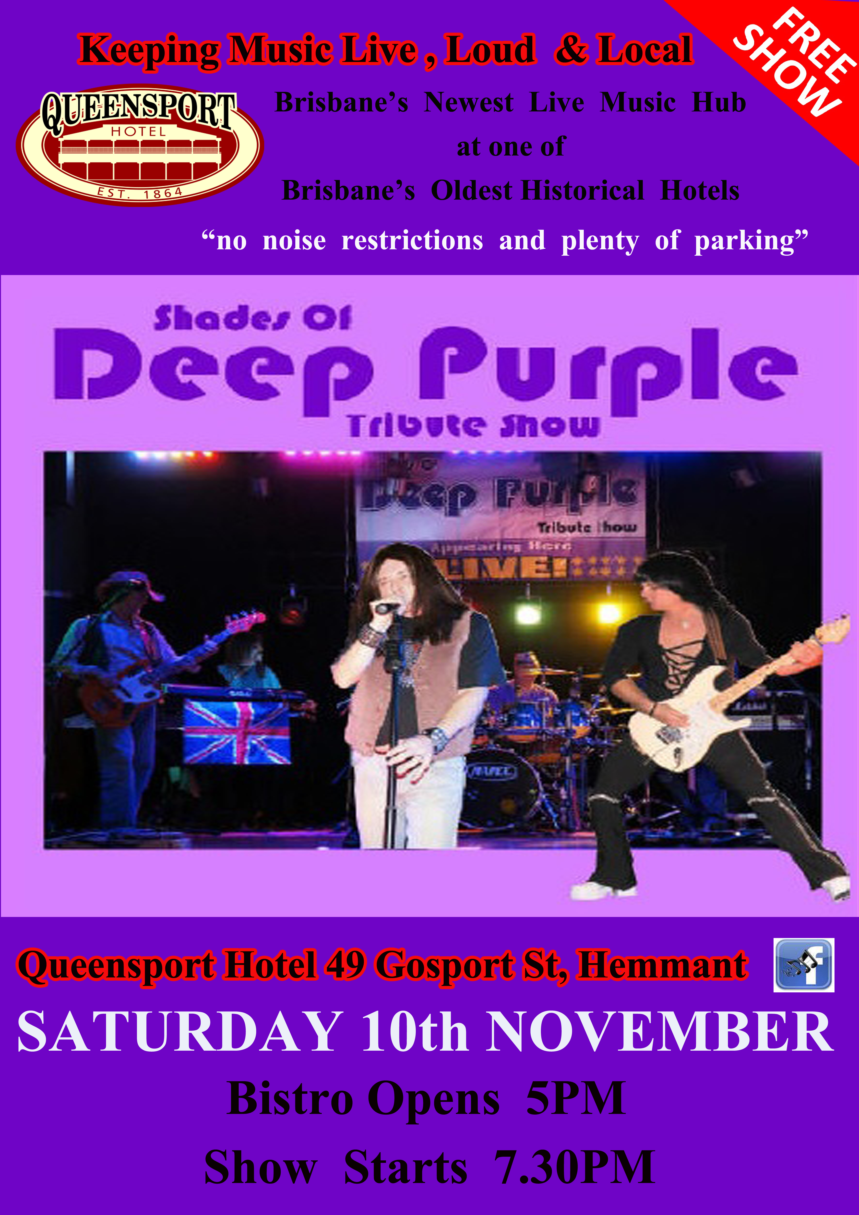 Deep Purple A3 10-11