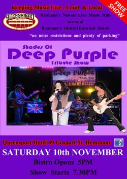 Deep Purple A3 10-11