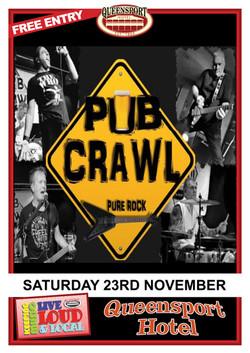 Pub Crawl A3 23 -11