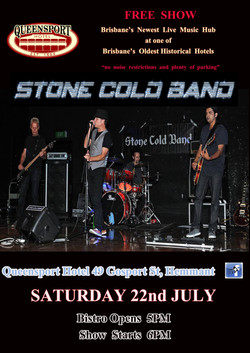 Stone Cold Band A3