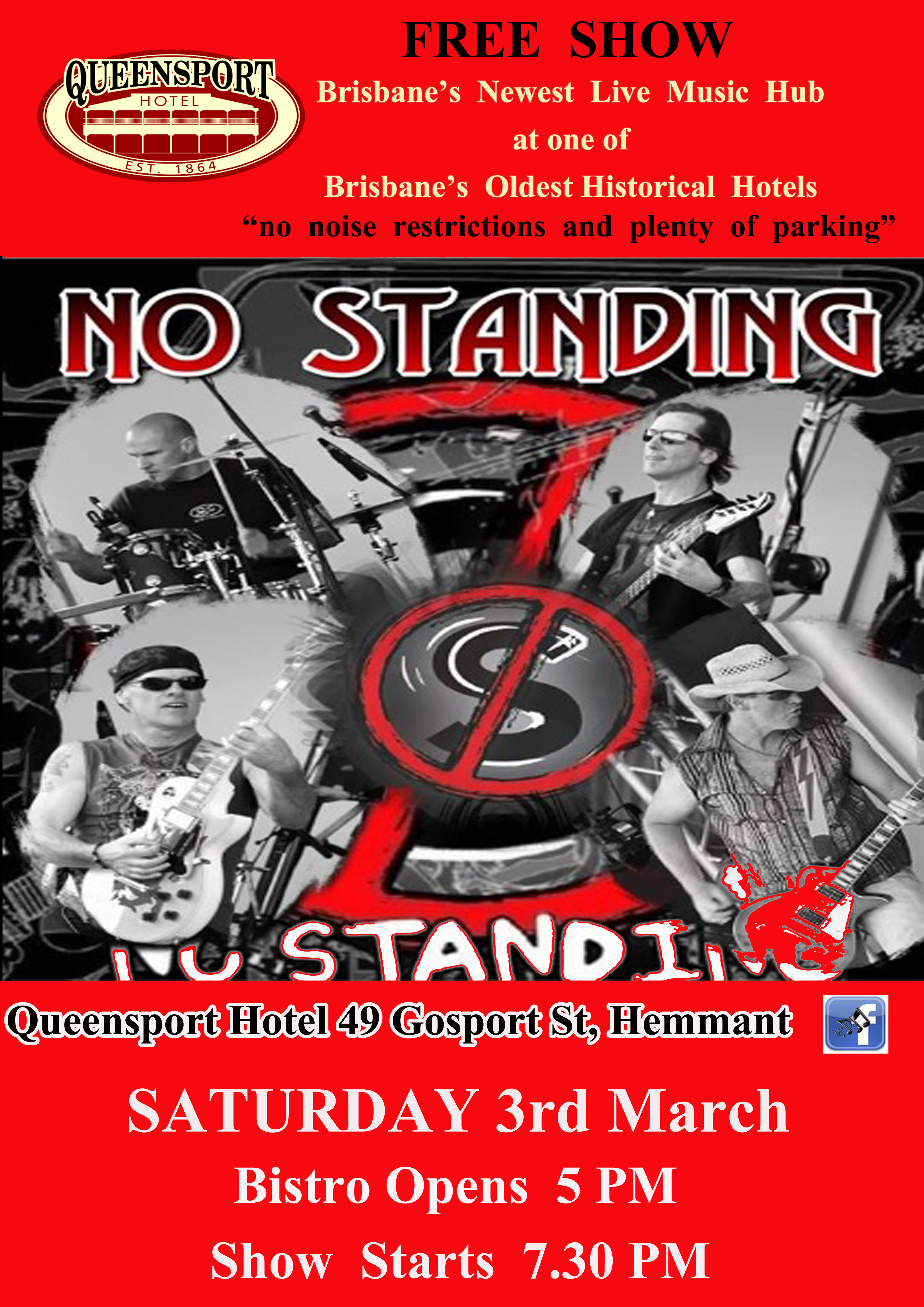 No Standing A3 3-3