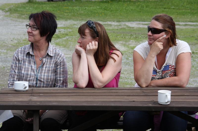 Lotta, Marie-Louise och Mia