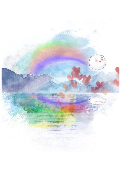 """Rainbow of Hope"" by Svetlana Dragicevic"