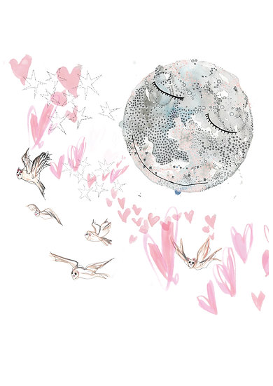 """""""To the Moon and Back"""" by Felicity Elena Haf"""