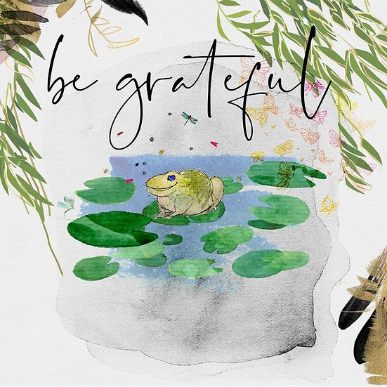 """Be Grateful"" by Svetlana Dragicevic"