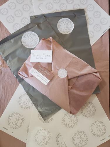 Manna Marie Boutique - Branding Packagin