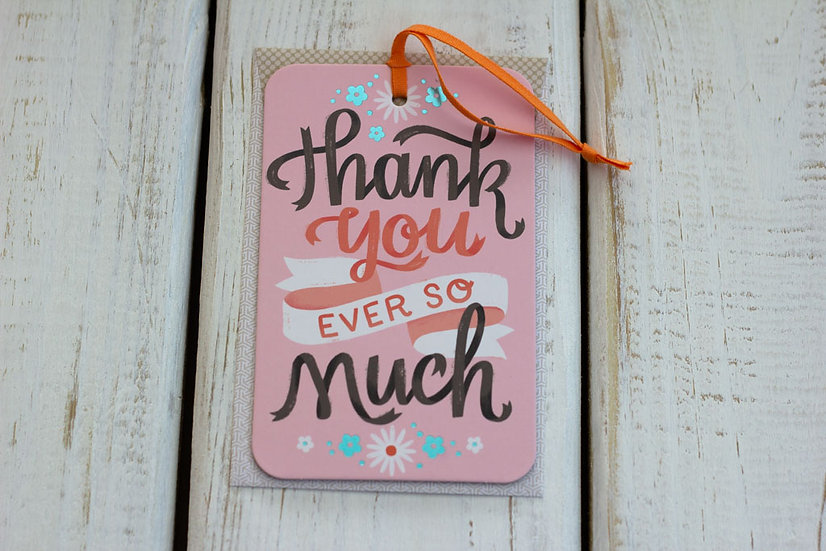 Ever so much (Thanks) - Greeting Card/Tag