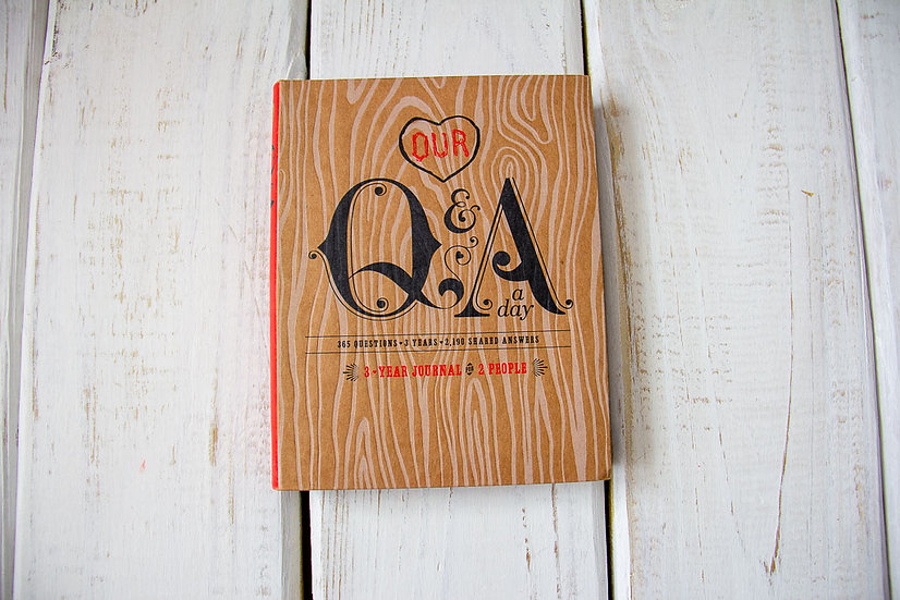 Our Q&A - 3 Year Journal For Couples