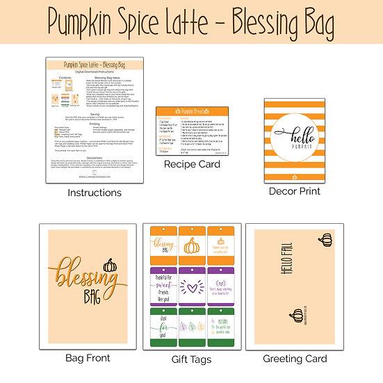 Fall Blessing Bag - Digital File Download