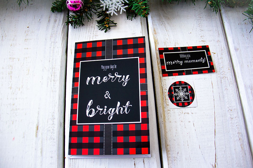 Merry & Bright - Greeting Card Pack
