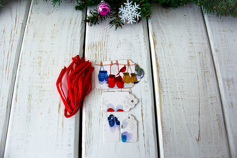 Upcycled Greeting Card Gift Tags