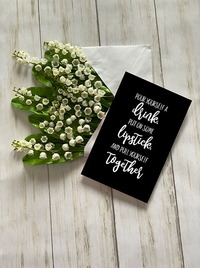 Pull Together - Greeting Card