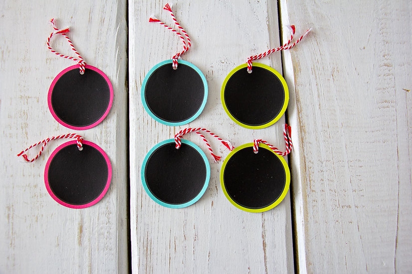 Assorted Circle Gift Tags