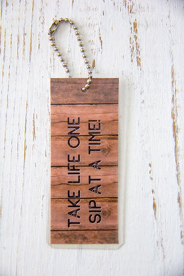 Take Life One Sip At A Time - Premium Gift Tag