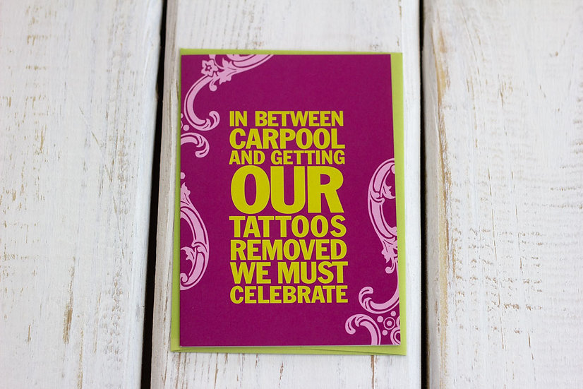 Carpool (Birthday) - Greeting Card