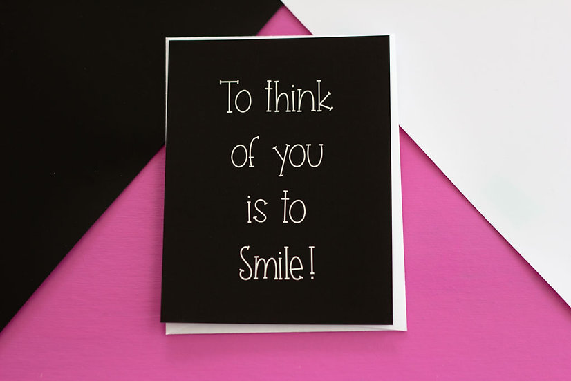 Think of You - Post Card