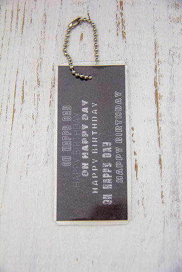 Oh Happy Day - Premium Gift Tag