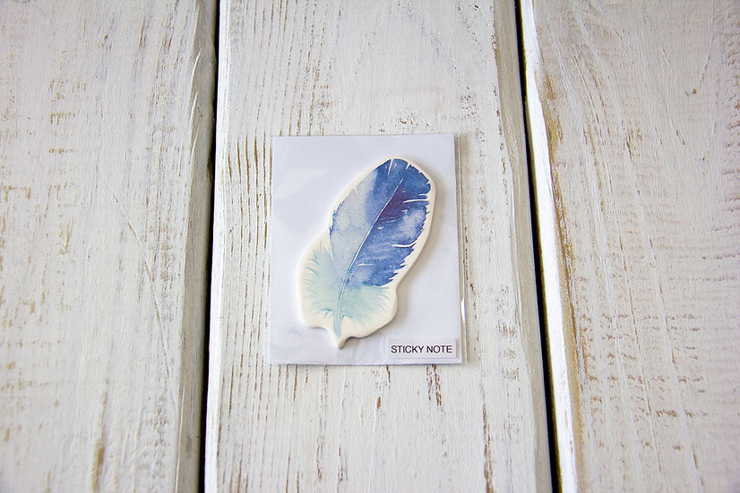 Sticky Notes - Feather Assorted