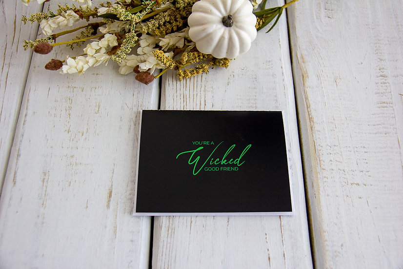 Wicked Friend - Note Card