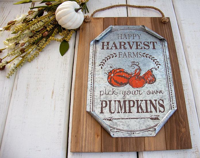 Happy Harvest - Farmhouse Decor