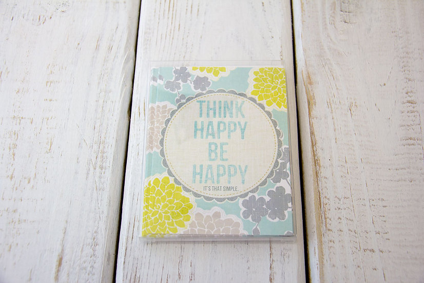 Think Happy Notecards - Qty 10