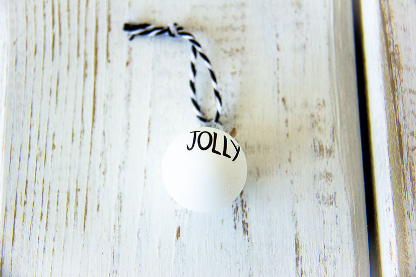 Mini Ornament - Gift Embellishment