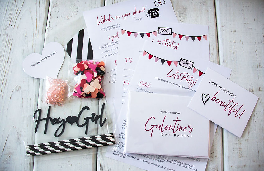 Galentine's Day Party Pack